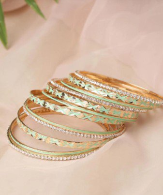 Bangles for Look 6