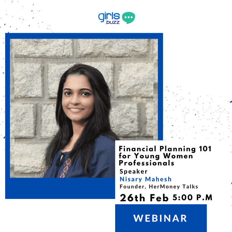 Webinar on Financial Planning 101 for Young Women Professionals