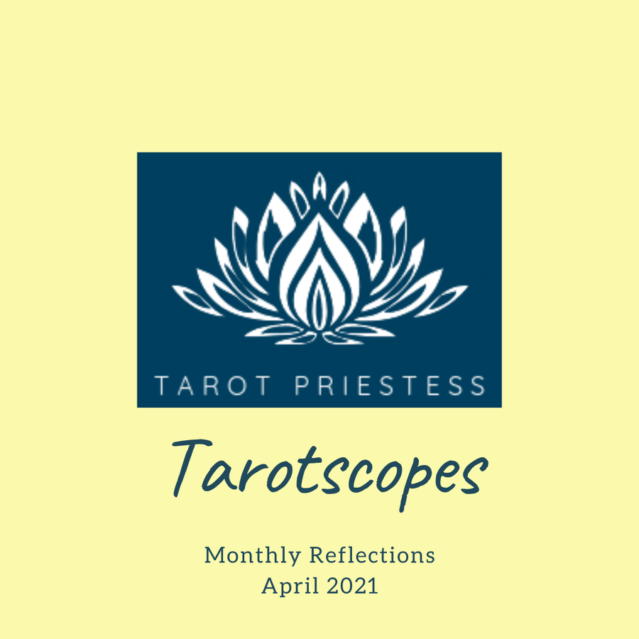 Monthly Tarot Banner - April