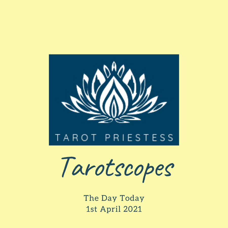 Daily Tarot Banner - April 1, 2021