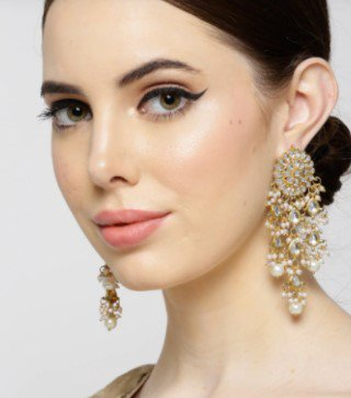 Earrings for Look 6