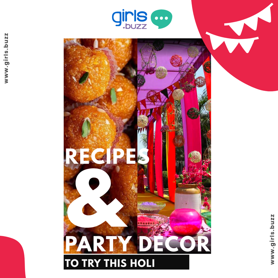 Recipes and Party Decor to try this Holi