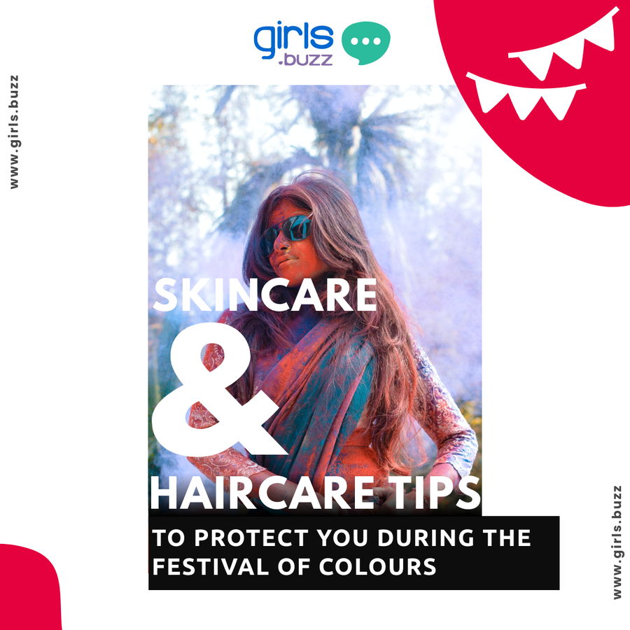 Skincare and Hair care tips during Holi