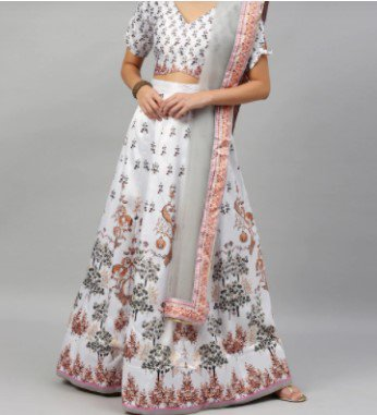 Lehenga Alternative for Look 2