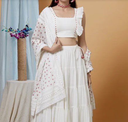 Lehenga for Look 7