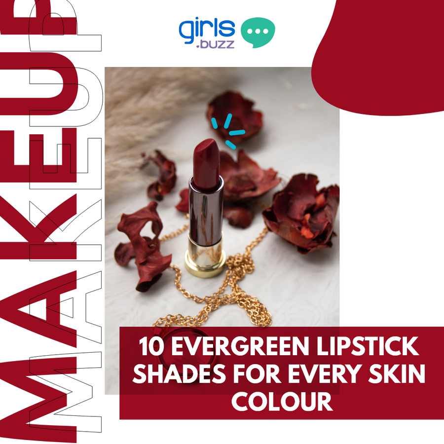 Evergreen Lipstick Shades For All Skin Tones
