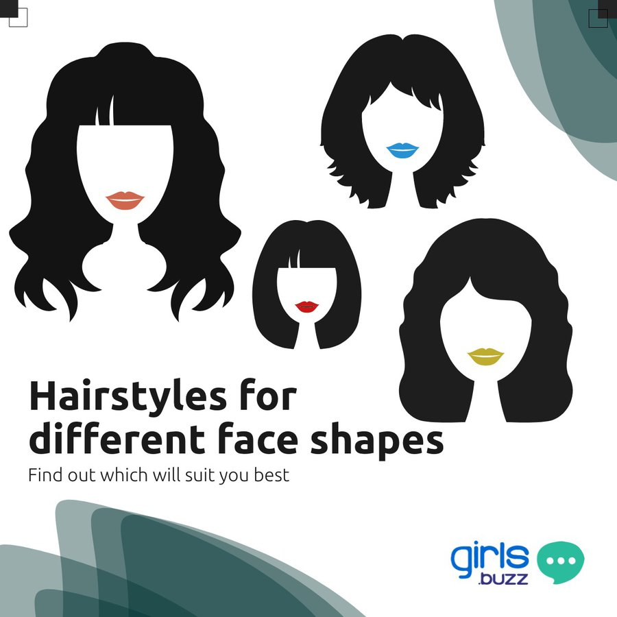 Hairstyle for different face shape
