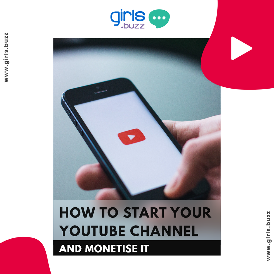 How to start your youtube channel and monetise it?